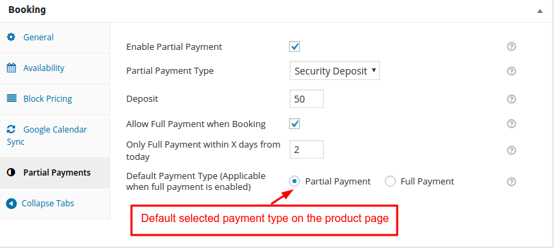 Partial Deposit addon Documentation for WooCommerce Booking and Appointment Plugin - Tyche Softwares