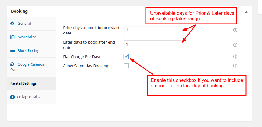 Rental addon Documentation for WooCommerce Booking and Appointment Plugin - Tyche Softwares