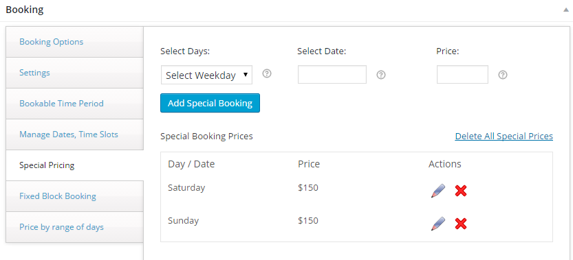 Sell Concert Tickets, Tours, Events with WooCommerce - Backend of Mumbai Tour product