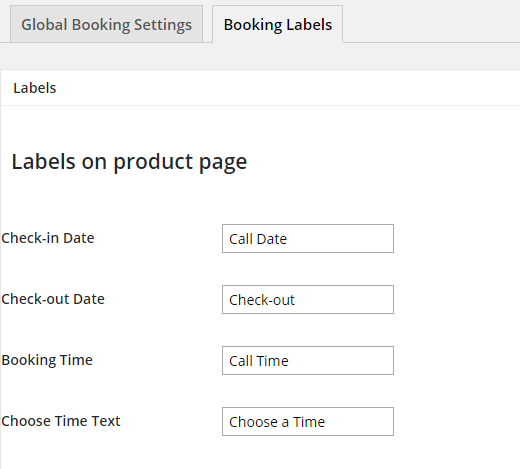 Turn your WooCommerce store into a booking platform - Booking Labels
