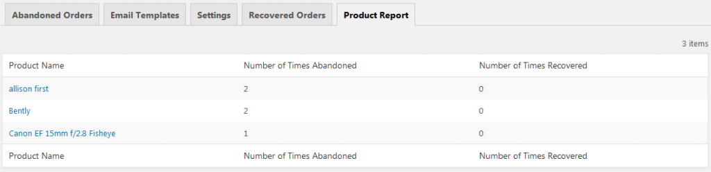 reports_1 - Differences between Pro and Lite versions of Abandoned Cart for WooCommerce plugin