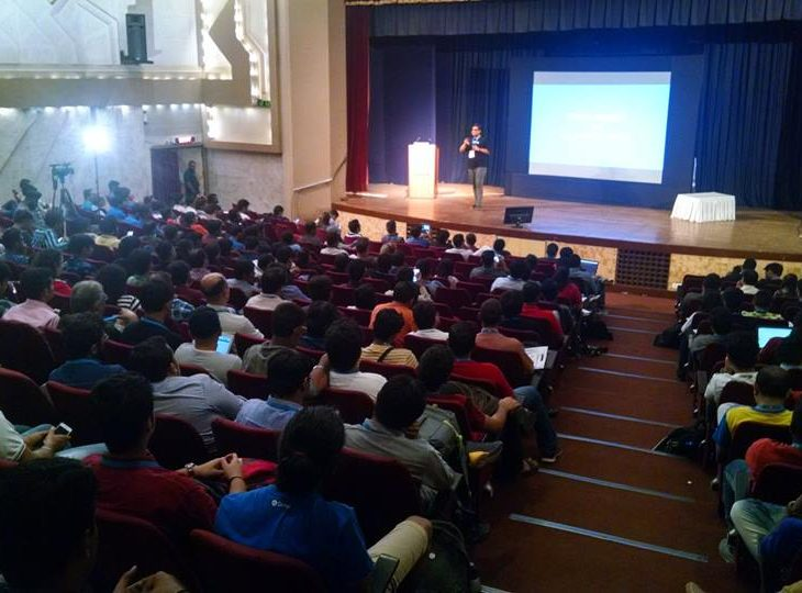 WordCamp Mumbai 2017 - Engaged Attendees at Rahul Bansal's Talk