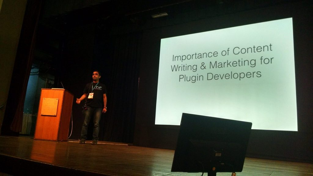 WordCamp Mumbai 2017 - Importance Of Content Writing & Marketing For Plugin Developers