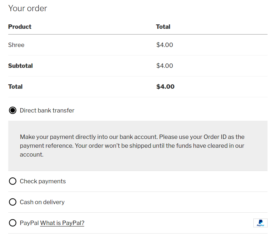 How to modify the cart details on WooCommerce checkout page