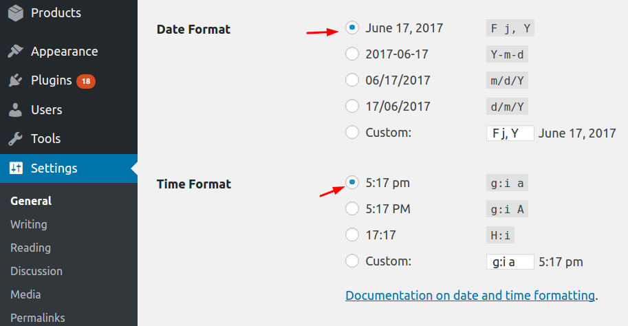 WordPress Date & Time format - Upcoming Release v5.0 of Abandoned Cart Pro for WooCommerce