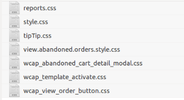 Css folder - Upcoming Release v5.0 of Abandoned Cart Pro for WooCommerce