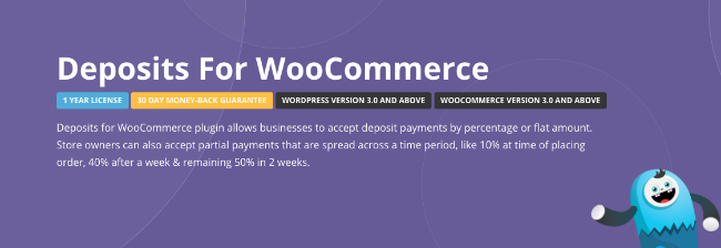 Best Free & Premium WooCommerce plugins - Deposits for WooCommerce
