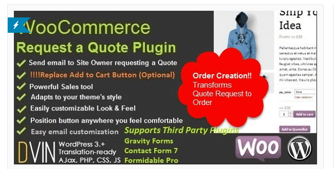 Best Free & Premium WooCommerce plugins - WooCommerce Request a Quote