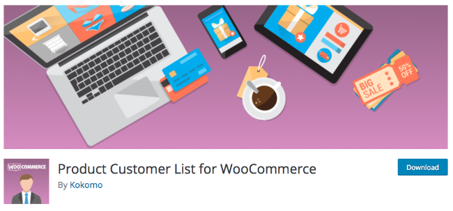 Best Free & Premium WooCommerce plugins - Product Customer List