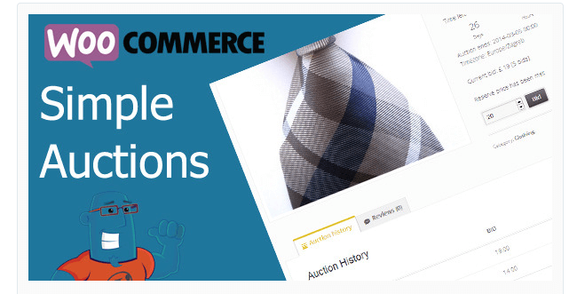 Best Free & Premium WooCommerce plugins - WooCommerce Simple Auctions