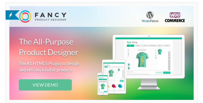 Best Free & Premium WooCommerce plugins - Fancy Product Designer