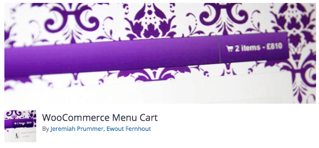 Best Free & Premium WooCommerce plugins - WooCommerce Menu Cart