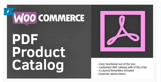 Best Free & Premium WooCommerce plugins - WooCommerce PDF Product Catalog