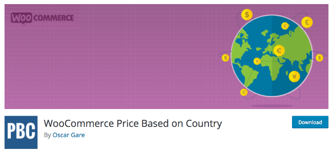 Best Free & Premium WooCommerce plugins - WooCommerce Price based on Country