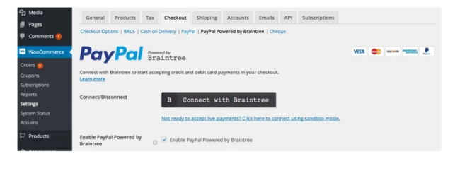 Best Free & Premium WooCommerce plugins - PayPal by Braintree