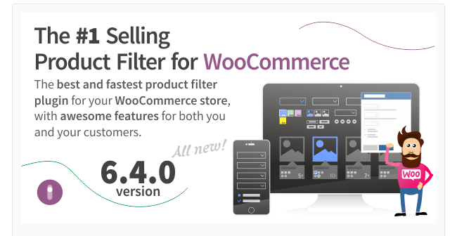 Best Free & Premium WooCommerce plugins - WooCommerce Product Filter 1