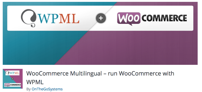 Best Free & Premium WooCommerce plugins - WooCommerce Multilingual