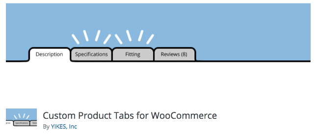 Best Free & Premium WooCommerce plugins - Custom Product Tabs
