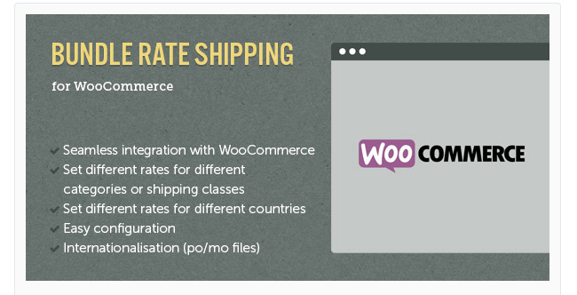 Best Free & Premium WooCommerce plugins - WooCommerce E Commerce Bundle Rate Shipping
