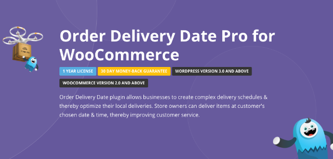 Best Free & Premium WooCommerce plugins - Order Delivery Date Pro