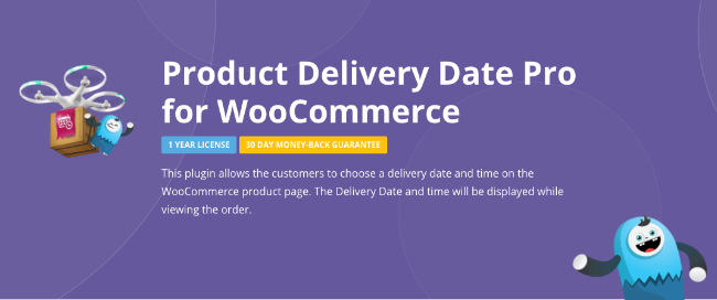 Best Free & Premium WooCommerce plugins - Product Delivery Date Pro
