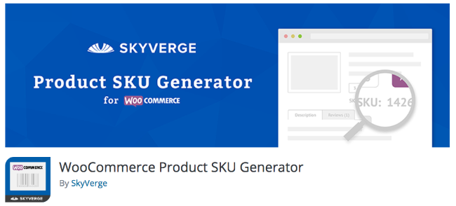 Best Free & Premium WooCommerce plugins - WooCommerce Product SKU Generator