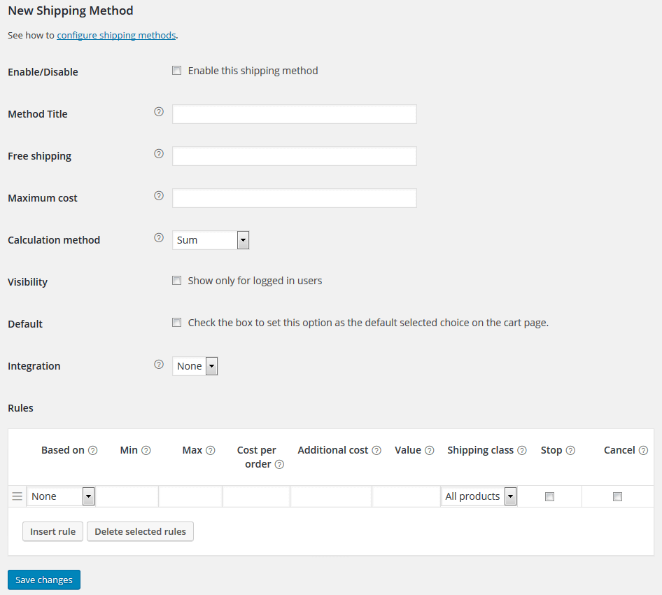 Flexible Shipping Free for WooCommerce