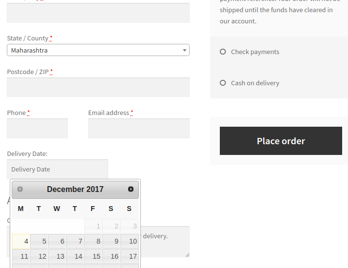 How to add custom fields on WooCommerce Checkout page