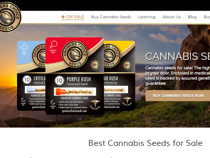 Growers Choice Cannabis Seeds - Tyche Softwares