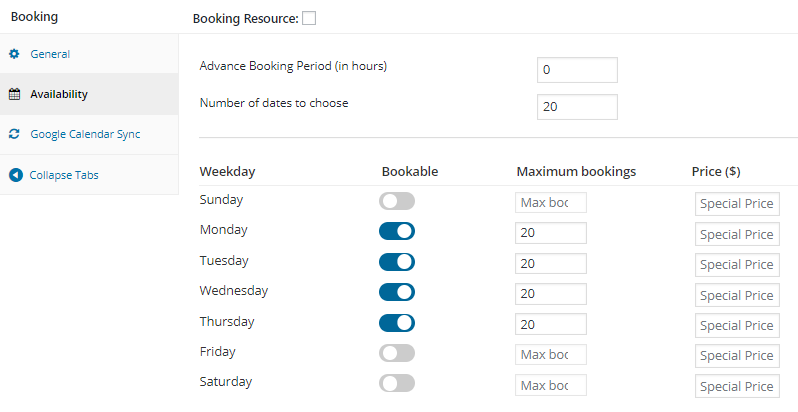 Handling stock management in Booking & Appointment Plugin for WooCommerce - Tyche Softwares