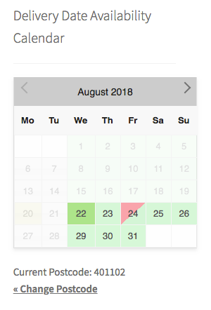 Partially Available Dates