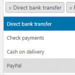 Disable Payment Gateways on Checkout
