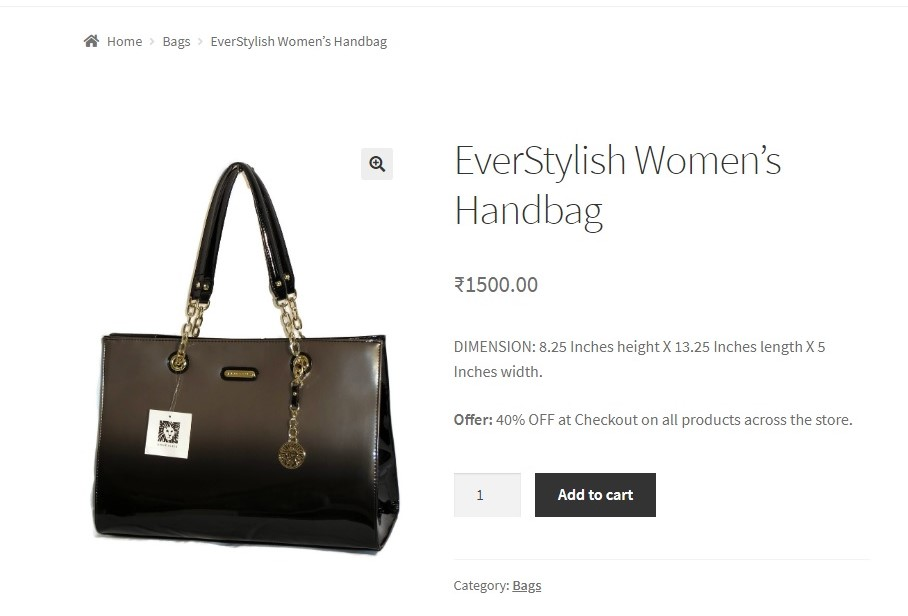 How to add text below the short description of the Product in WooCommerce - Formatted the added short description text.