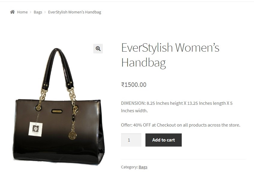 How to add text below the short description of the Product in WooCommerce - Added text to short description example1