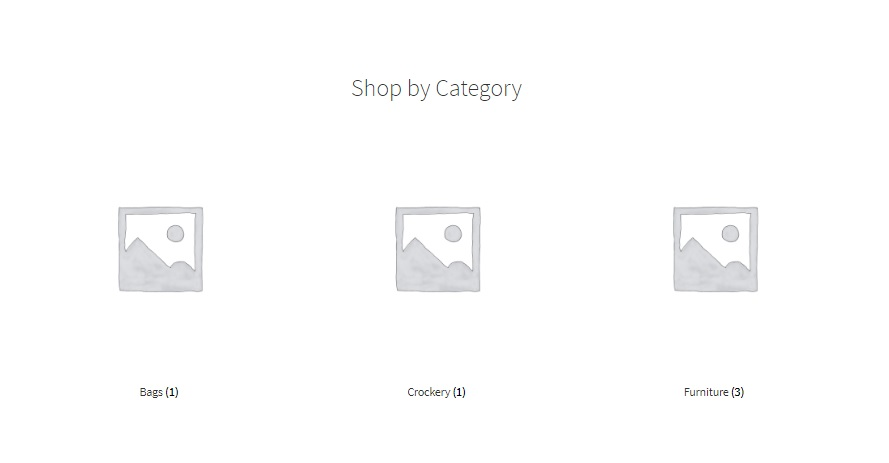 Change Default Category Thumbnail on WooCommerce Shop Page - Default category thumbnails