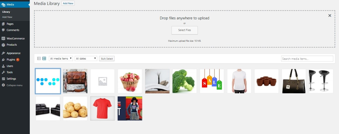Change Default Category Thumbnail on WooCommerce Shop Page - Adding thumbnail to Media Library