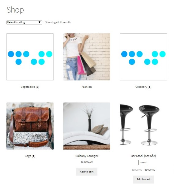 How to hide a WooCommerce product category on the Shop Page - Categories UnCategorised and Furniture hidden on Shop Page