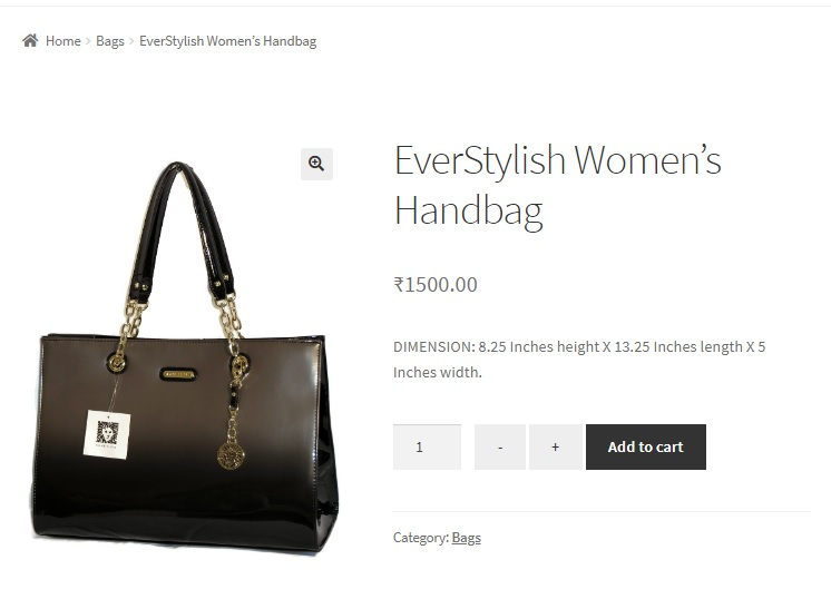 add plus + and minus - buttons to the quantity input on the product page in WooCommerce using code snippets and plugins - buttons added to the quantity input using code snippets