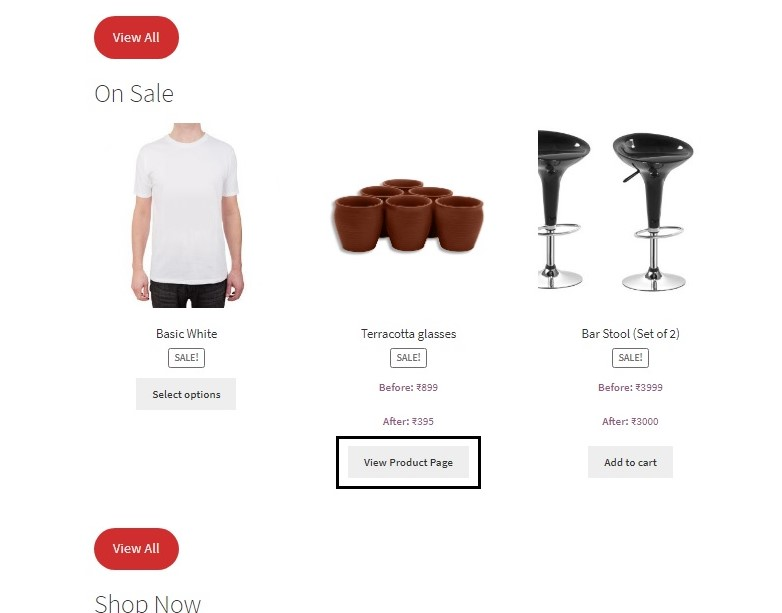 link external products on the Shop or Archive page to the Product page in WooCommerce - Button text changed on Shop page