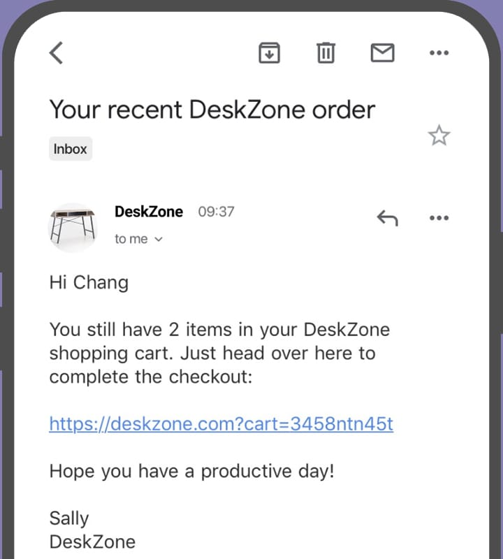 device email