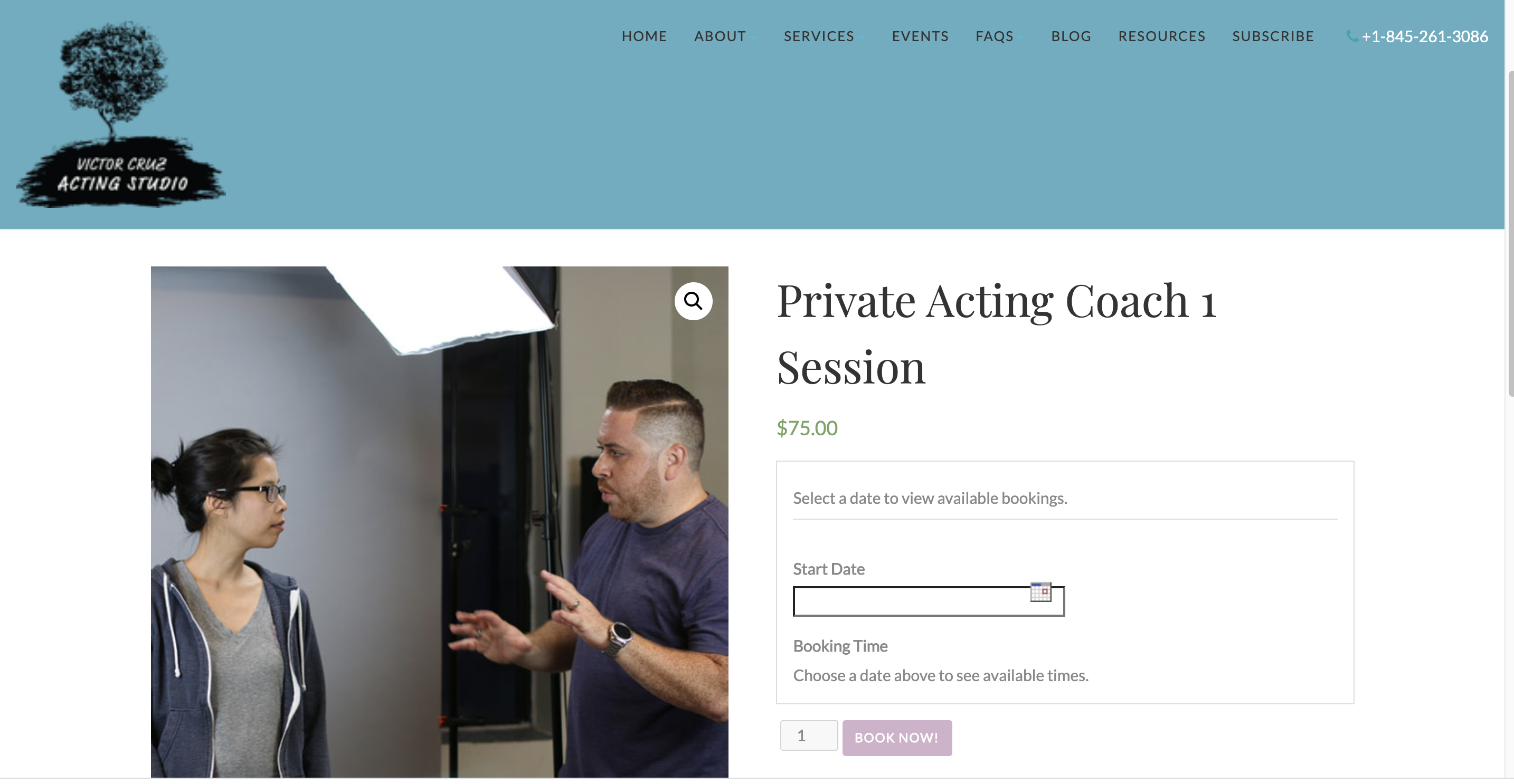 online acting classes