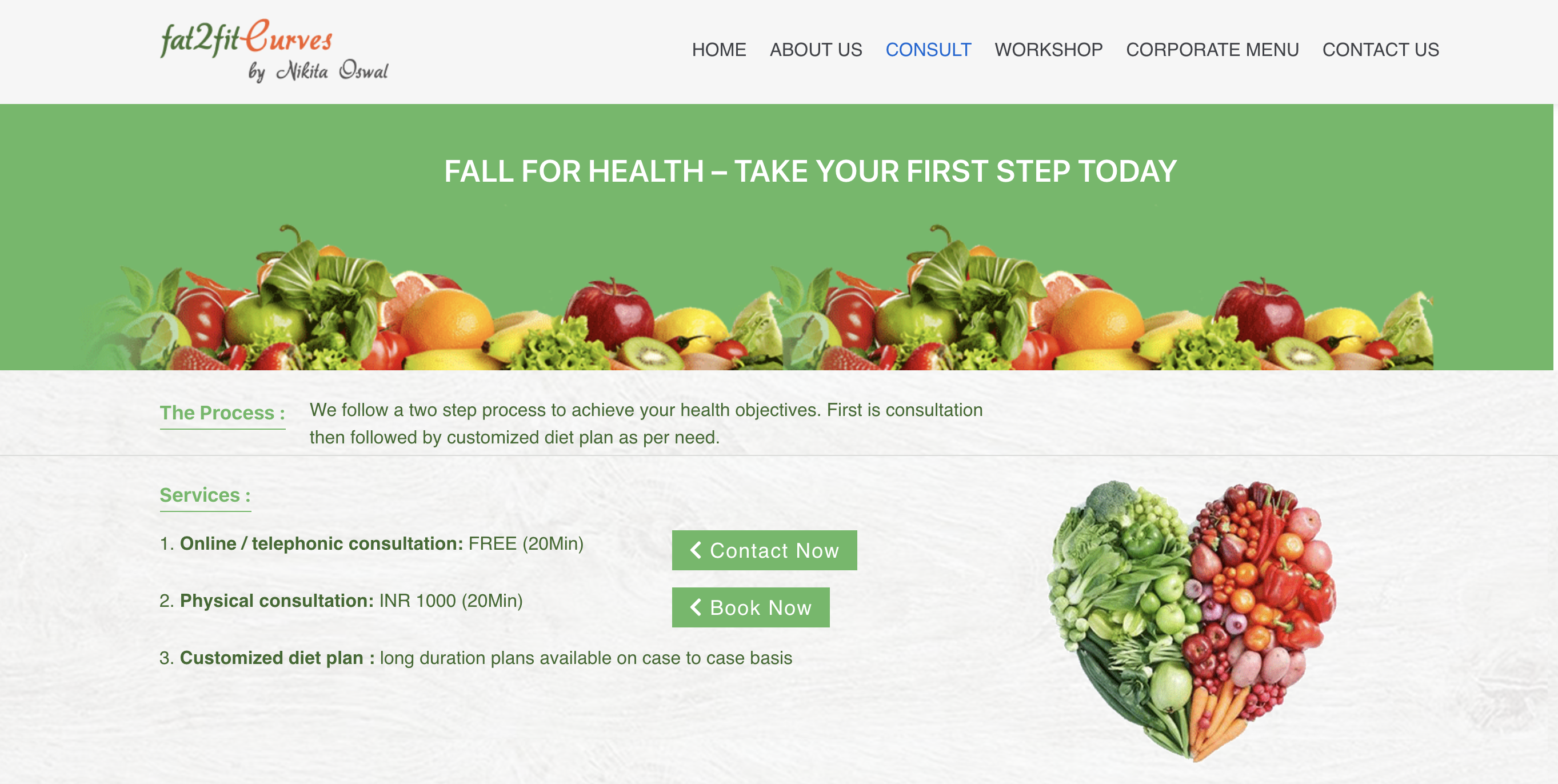 nutrition consultant online