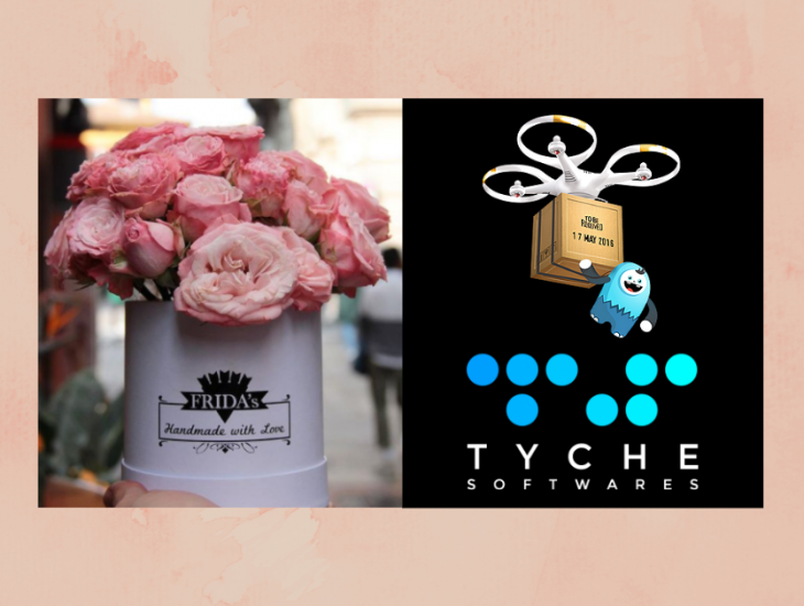 A flower brand with various branches in Italy: Story of how Frida's handles their online flower deliveries | tychesoftwares.com