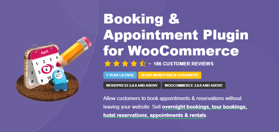 Booking & Appointment plugin page