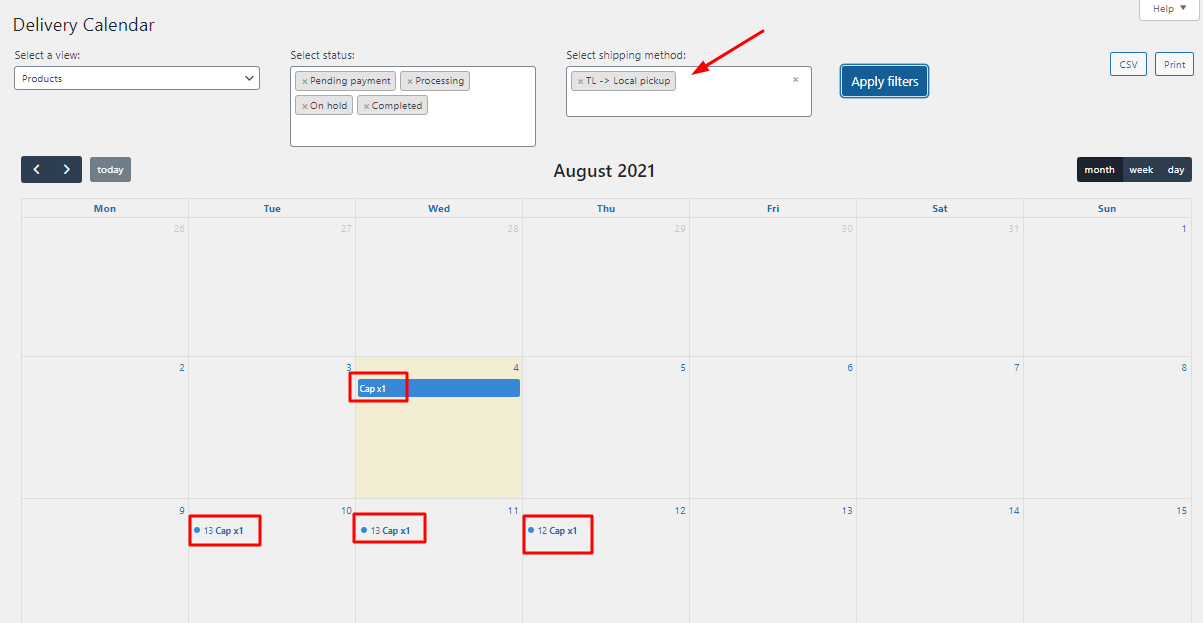 Order Delivery Date Pro for WooCommerce v9.27.0 update - Tyche Softwares