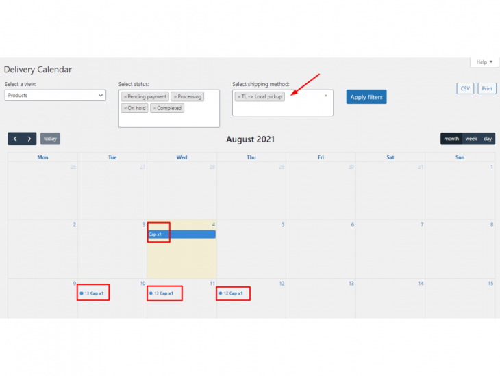 Delivery calender settings Order Delivery Date Pro for WooCommerce v9.27.0 update | tychesoftwares.com